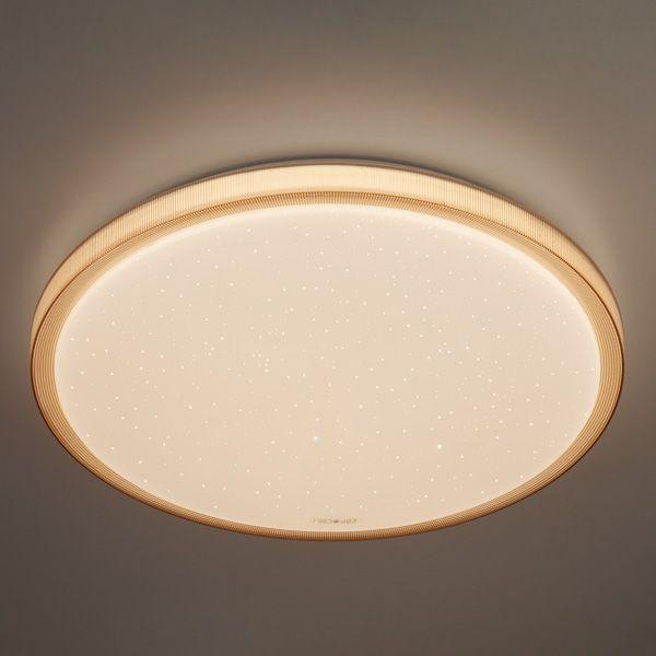 Светодиодный потолочный светильник 40015/1 LED кофе
