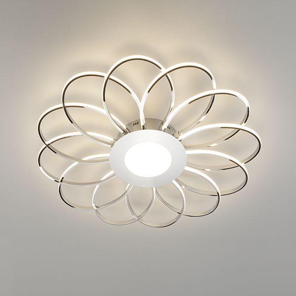 Светодиодный потолочный светильник 90105/13 хром