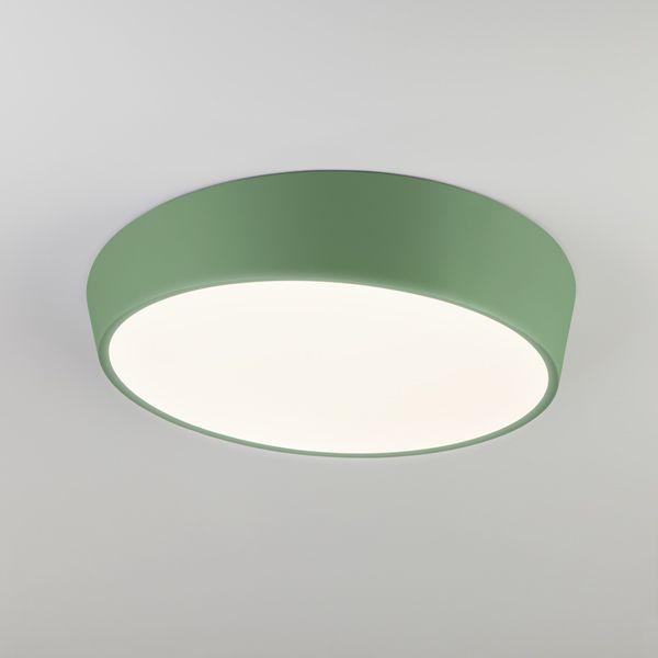 Светодиодный потолочный светильник 90113/1 зеленый