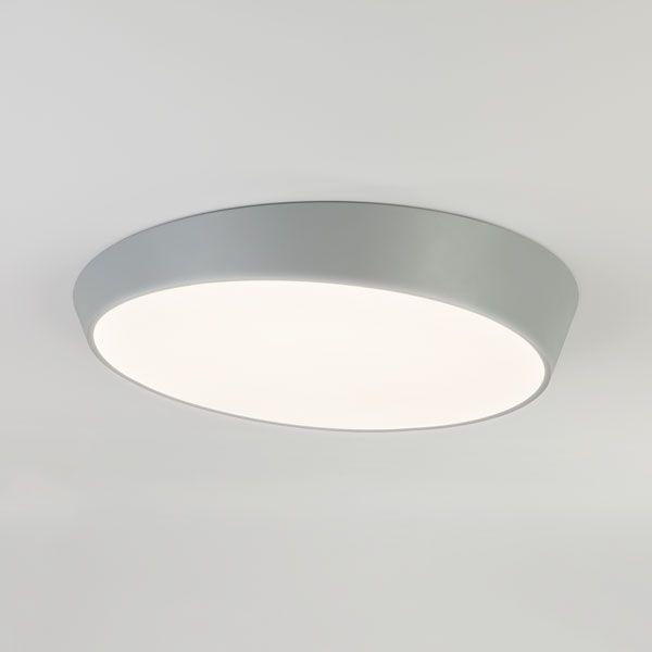 Светодиодный потолочный светильник 90114/1 серый