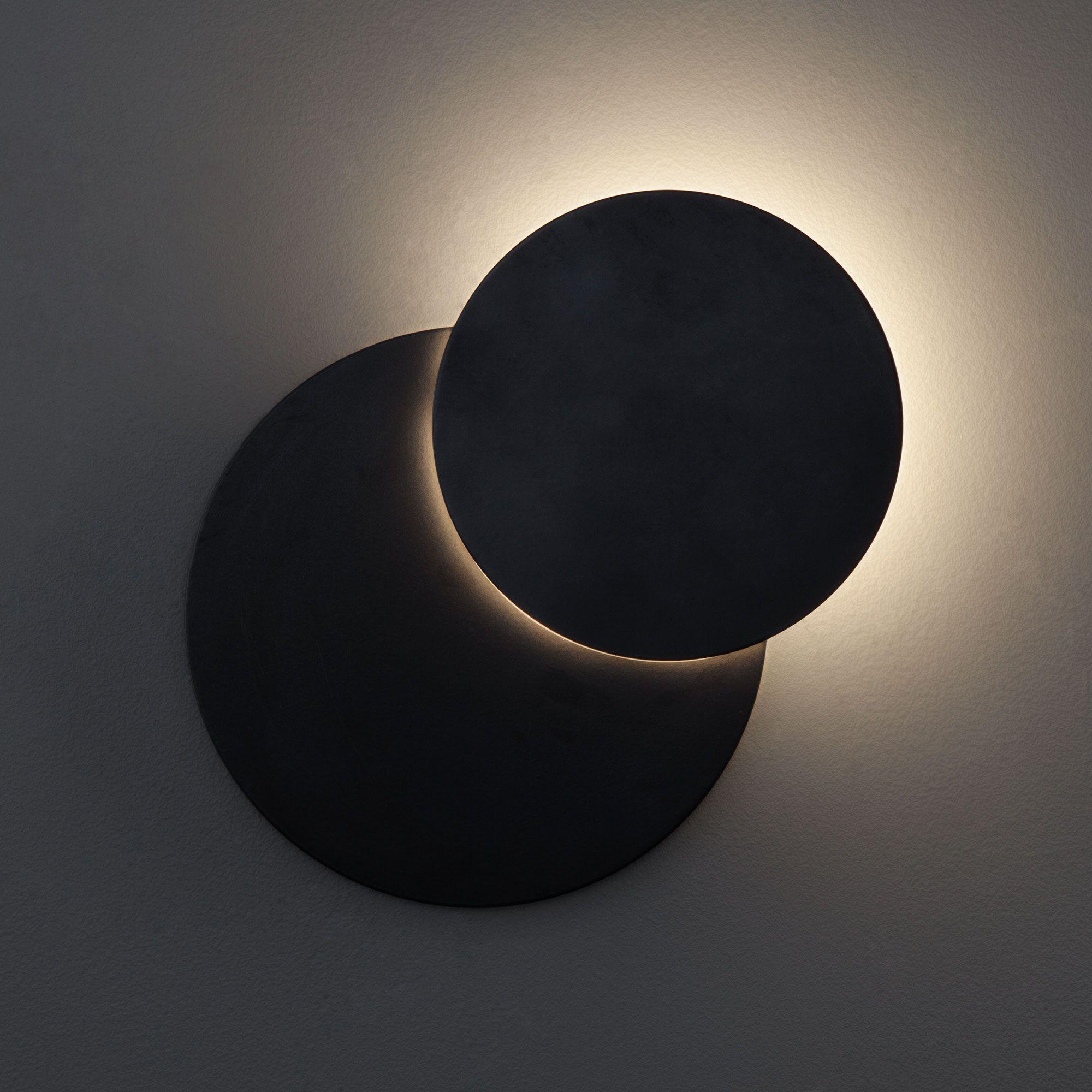Настенный светодиодный светильник 40135/1 черный