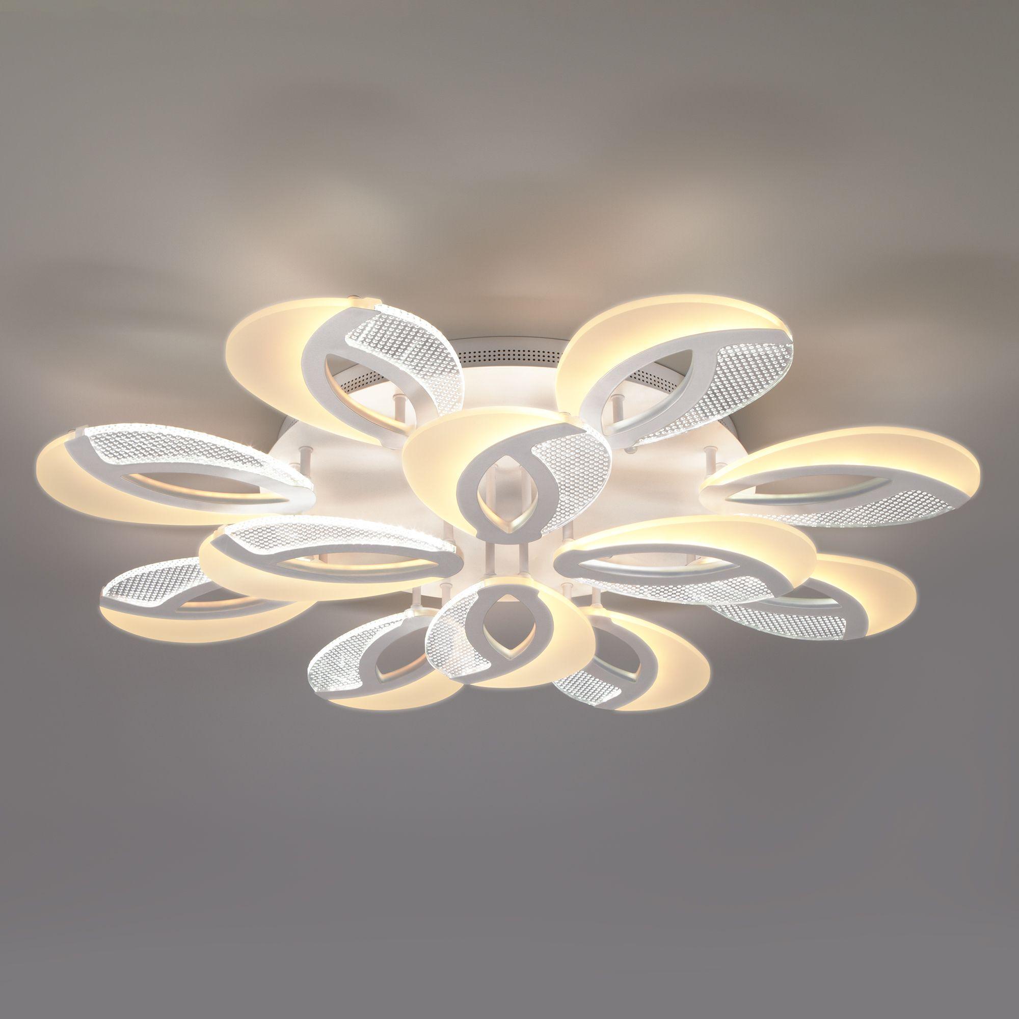 Светодиодный потолочный светильник с пультом управления 90140/12 белый